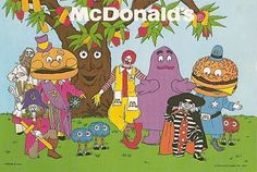 McDonalds Characters...what ever happened to these guys? They were hilarious!