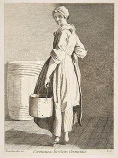 Walnut Seller, Paris, 1738 Anne Claude Philippe de Tubières, Comte de Caylus  (French, Paris 1692–1765 Paris)