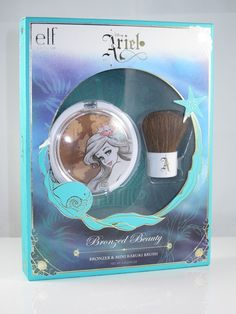 E.L.F. Disney Ariel Bronzed Beauty Set #thelittlemermaid