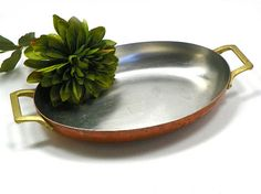 Vintage Copper and Stainless Steel Baking by ChaseyblueVintage