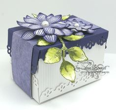 Clematis Box by whippetgirl - Cards and Paper Crafts at Splitcoaststampers
