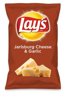 Wouldn't Jarlsburg Cheese & Garlic be yummy as a chip? Lay's Do Us A Flavor is back, and the search is on for the yummiest flavor idea. Create a flavor, choose a chip and you could win $1 million! https://www.dousaflavor.com See Rules.