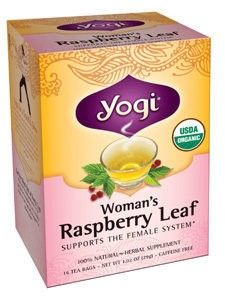 Yogi Teas Woman S Raspberry Leaf 16 Bags 420119 Asd Yogi Green