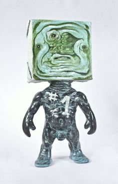 Johnny Paint me Motherfucker (The bronzed number one) by Emilio subira via SickemilShop. Click on the image to see more! #Emiliosubira #sickemil #arttoy #toycollector #Johnnypaintmemotherfucker #toydesigner #resin #resintoy #toy #sculpture