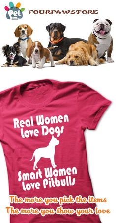 Real Women Loves Pit Bulls!