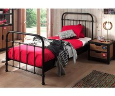 Bring your children's bedroom to life with our range of Bedroom Furniture. Shop bunk beds, children's beds, cabin beds & novelty beds for kids. Bed City, Lit Simple, Stylish Beds, Nest Design, Childrens Beds, Bed Reviews, Black Bedding, Metal Beds, Bed Sizes