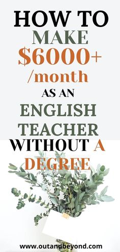 Start making money as a freelance english teacher online, without a degree! Teach online as an english teacher and make money while working from home! Make money from the couch with a successful side hustle that can make you a full time salary! Save your earnings and start living debt free! Online Teaching Jobs, Teach Online, Online Jobs, Teaching Resources, Online English Teacher, Job Website, Online Classroom, Online Lessons, Debt Free