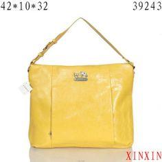 Coach Phoebe Large Yellow Shoulder Bags ASC Give You The Best feeling! Coach Handbags, Coach Purses, Purses And Bags, Hi Fashion, Fashion Lookbook, Cheap Coach Bags, Cheap Gucci, Designer Handbags On Sale, Humor