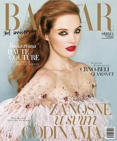 Alexina Graham for Harper's Bazaar Serbia October 2017