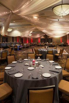 Wedding Receptions, Trainings, Speakers and Galas. Our Ballroom transforms.