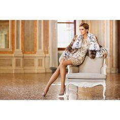 Цена на Женское пальто из меха рыси от компании Салон кожи и меха... ❤ liked on Polyvore featuring fur