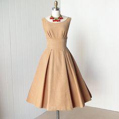 vestido vintage de 1950... vestido clásico BETTY