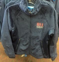 This fuzzy fleece Radford jacket will keep you just as warm as any North Face jacket would! Plus, it lets you show your RU spirit too!