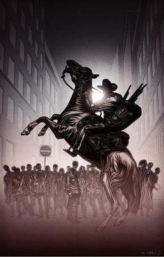 The Walking Dead by Daniel Kanemoto