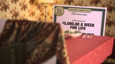 Lucky the PCH Big Check beefs up for the new $10,000.00 A Week For Life ...