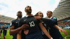 Francia 3 - 0 Honduras