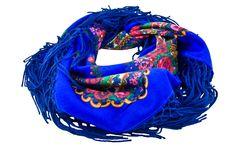 Polish folk scarf