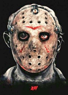 Jason Voorhees-Friday The Jason Friday, Friday The 13th, Jason Voorhees Figure, Living Dead Dolls, Halloween Poster, Scary Movies, Horror Movies, Horror Villains, Thing 1