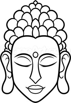 how to draw buddha easy step the link now to find the center in you with our amazing selections of items ranging from yoga apparel to meditation space decor! Buddha Drawing, Buddha Painting, Mural Painting, Fabric Painting, Paintings, Buddha Kunst, Buddha Art, Stone Drawing, Online Drawing