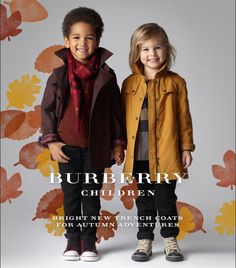 Burberry Children 2012 Autumn