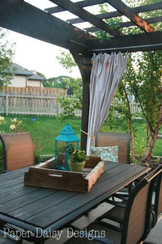 Right at Home 20 Patio Table Redo DIY Pinterest Patio