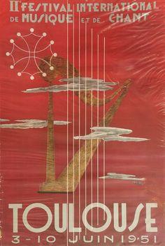 2ème festival international de musique et de chant - Toulouse - 1951 -