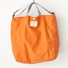 WONDER BAGGAGE ワンダーバゲージ Relax tote 2 : orange × gray リラックス トート 2 オレンジ グレー Baggage, Diy Fashion, Sunnies, Relax, Backpacks, Lady, Wallets, Totes, Sunglasses