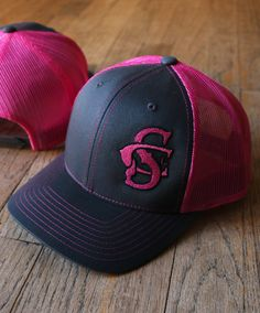 South County Line - Neon Pink Trucker Hat