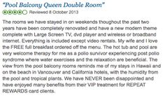 We're delighted that our guests are enjoying our newly renovated rooms! See more reviews here: http://bit.ly/1i7E39w