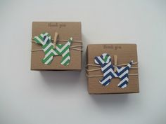 20 Puppy dog  baby shower favor box Birthday party, special event navy and green chevron