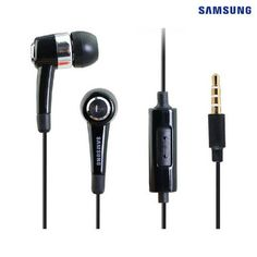 2-Pack: SAMSUNG Noise-Isolating Stereo Hands-Free Headset - Black at 77% Savings off Retail!