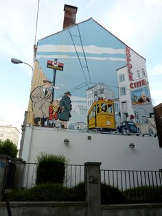 Belgium: Follow Tintin around Brussels