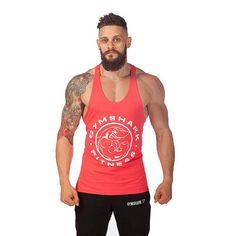 Gym Shark Stringer Tank Tops – Body Building Tanks
