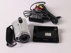 Sony DCR-SR32E 30 GB Camcorder HDD 30 GB Video Kamera 40x Zoom Digital Touch