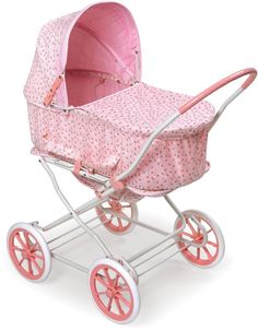 Pink Rosebud 3-in-1 Doll Pram, Carrier & Stroller https://api.shopstyle.com/action/apiVisitRetailer?id=477597747&pid=uid8100-34415590-43