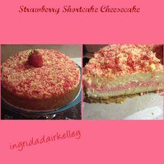 Strawberry shortcake cheesecake!