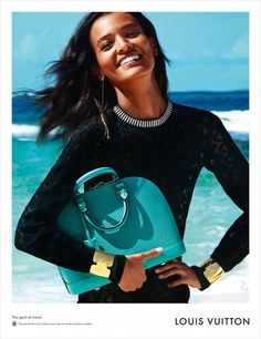 Liya Kebede for Louis Vuitton Spirit of Travel SS15 by Patrick Demarchelier