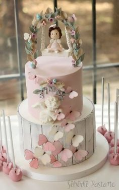 Butterfly Cake – Cake by way of Sihirli Pastane Schmetterlingskuchen Seriously Cute Cakes (Visited 4 times, 1 visits today) Baby Girl Birthday Cake, Baby Girl Cakes, First Birthday Cakes, Birthday Cupcakes, Fondant Cupcakes, Fondant Girl, Cupcake Cakes, Car Cakes, Fondant Rose
