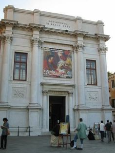 Academia de Bellas artes de Venecia Italia