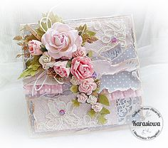 Southern Girls Challenge Pretty Cards, Cute Cards, Mixed Media Cards, Shabby Chic Cards, Scrapbook Cards, Scrapbooking, Heartfelt Creations, Paper Roses, Card Sketches