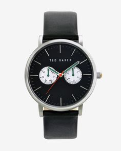 Matte dial watch - Black | Watches & Jewellery | Ted Baker UK