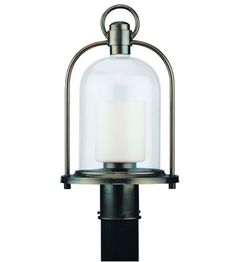 Troy Lighting Chatham 1 Light Outdoor Post Lantern in Heritage Bronze P2025HB #troy #lighting
