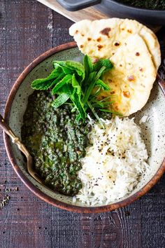 Our 20 BEST Vegetarian Recipes | Emerald Dal - is one of the most delicious, plant-based Indian meals! This version is packed with Spinach making it especially high in nutrients and flavor!Rich, fragrant, and packed with protein, think of this Spinach Lentil Dal - like Saag Paneer, but substituting lentils instead of the Cheese! Super tasty and healthy. #dal #lentilrecipes #lentildal