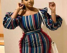African Fashion Ankara, Latest African Fashion Dresses, African Print Fashion, Africa Fashion, African Style, African Beauty, African Women, Short African Dresses, Ankara Long Gown Styles