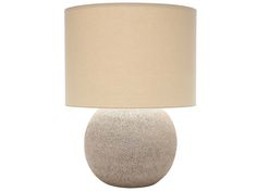 Nadia Table Lamp  Organic, Transitional, Ceramic, Upholstery  Fabric, Table by Curated Kravet