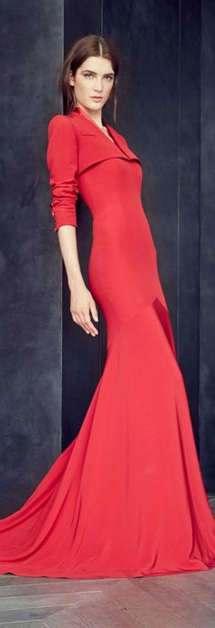 Fall 2015 Co jαɢlαdyuture Alexis Mabille Lovely Dresses, Stylish Dresses, Elegant Dresses, Gorgeous Dress, Red Fashion, Runway Fashion, Autumn Fashion, Style Fashion, Alexis Mabille