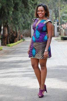 Diana Opoti 100 days of african fashion | Pagnifik