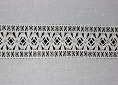 Viking Embroidery, Hardanger Embroidery, Hand Embroidery Stitches, Diy Embroidery, Fillet Crochet, Drawn Thread, Point Lace, Needle Lace, Sewing Studio