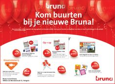Concept and design: Ads for one of the 425 franchise store Bruna