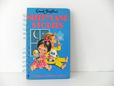 Enid Blyton notebook  upcycled notebook  by peonyandthistle, £14.00